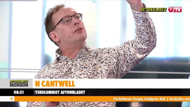 """Oisín Cantwell ger syråd i """"Oj vilken vecka""""."""