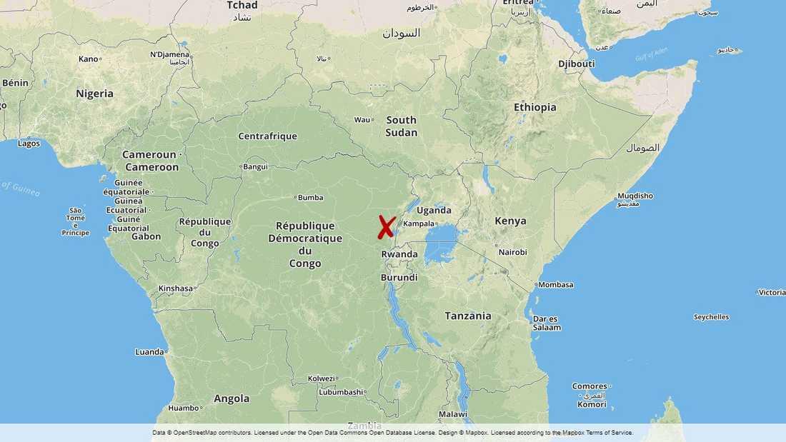 Beniregionen i Kongo-Kinshasa