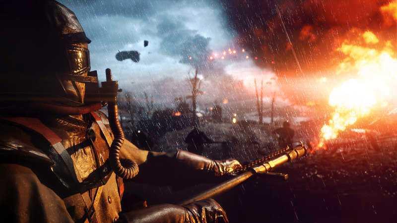 """Publiken har i flera år antytt att den är redo för ett nytt historiskt krigsspel, menar Peter Ottsjö. Bilden är från spelet """"Battlefield 1""""."""