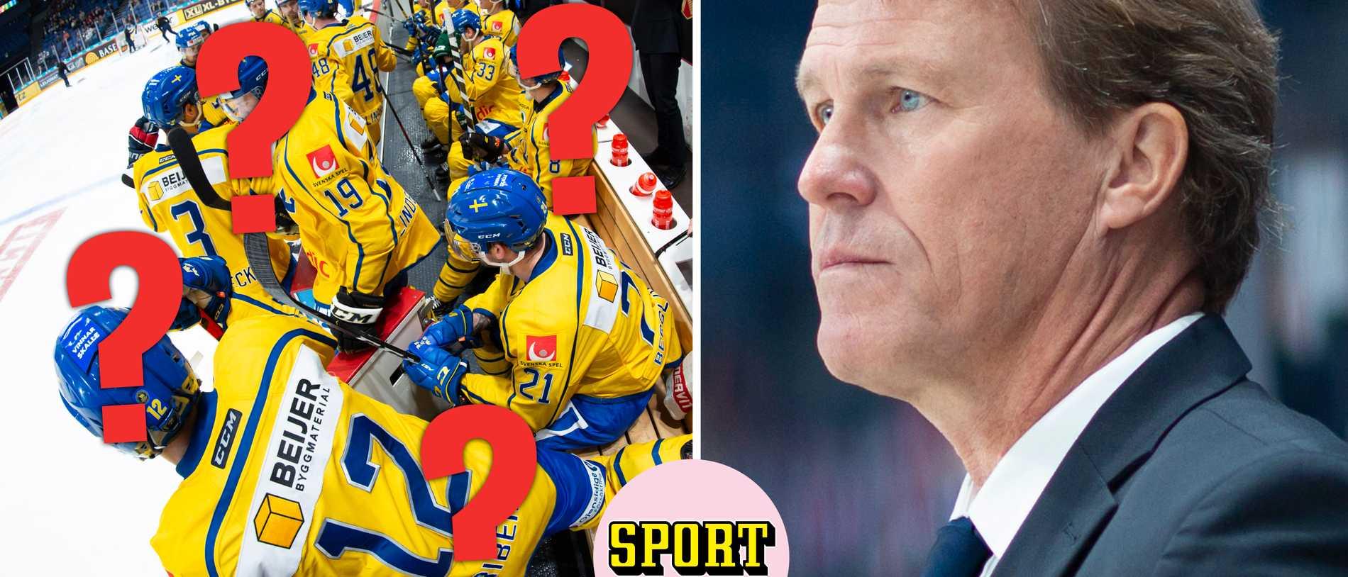 SHL-klubbar tveksamma till att släppa iväg spelare till Tre Kronor