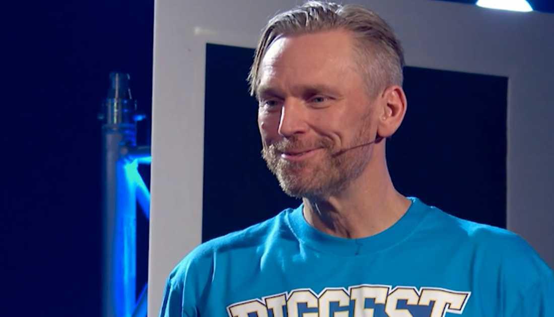 """Michael Fridebäck vann finalen av """"Biggest loser""""."""