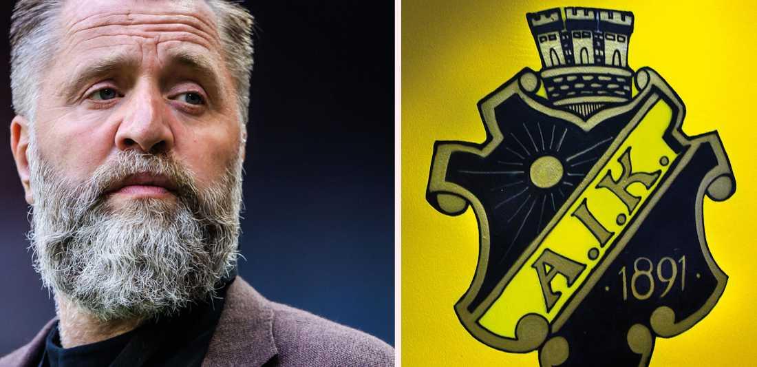 AIK:s sportchef Björn Wesström.