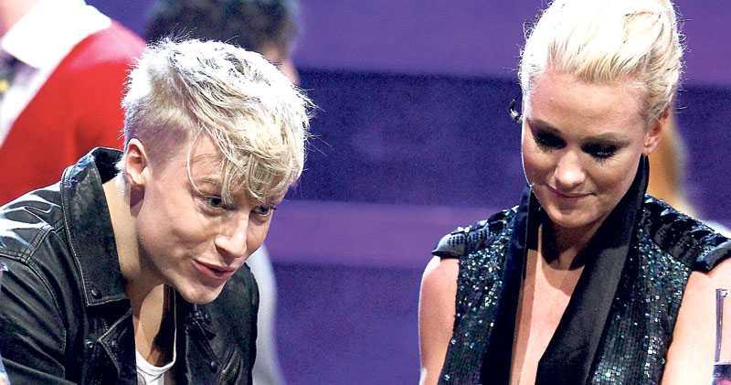 """I?går slogs Ola Svensson och Jessica Andersson om en finalplats i Melodifestivalen. Den unga """"Idol""""-stjärnan gick vinnande ur striden – precis som när Måns Zelmerlöw 2007 slog ut schlagerprofilen Magnus Carlsson och därmed förändrade tävlingens villkor i grunden, skriver Markus Larsson. Foto: STEFAN JERREVÅNG"""