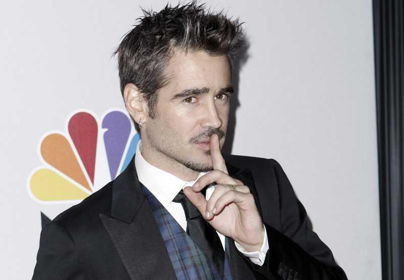 Colin Farrell ska ha lämnat kärleken Emma Forrest.