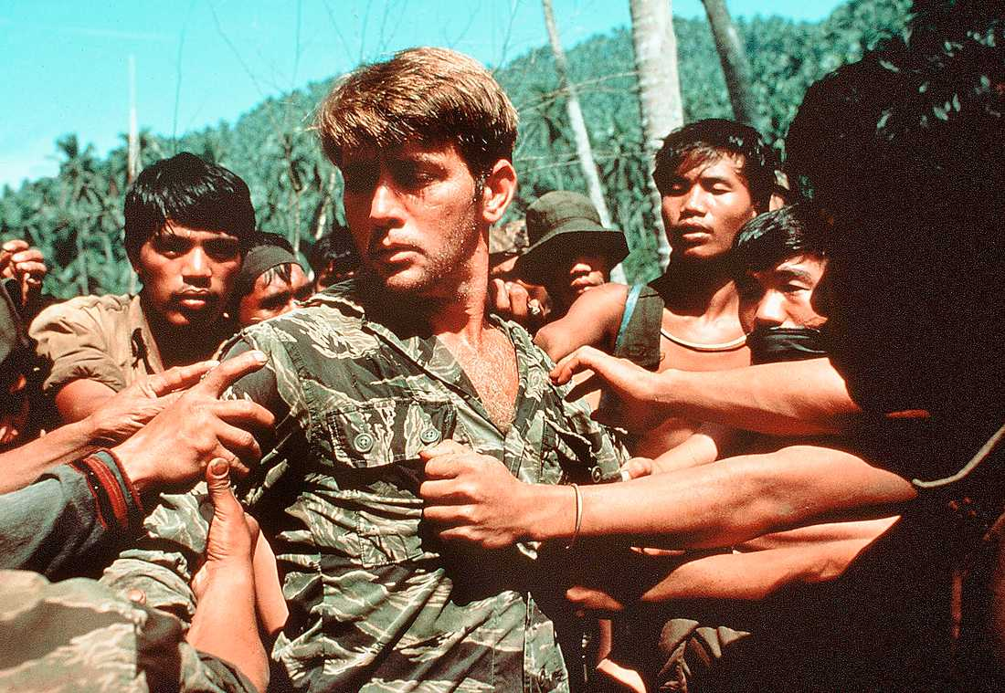 "Martin Sheen i ""Apocalypse now"" från 1979."