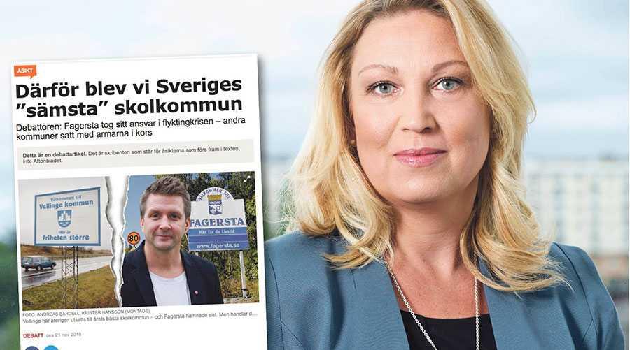 Precis som Wallsten konstaterar har vi varit tydliga med kravet på att alla kommuner och fristående skolhuvudmän behöver vara med och dela på ansvaret för nyanlända elever, skriver Johanna Jaara Åstrand.