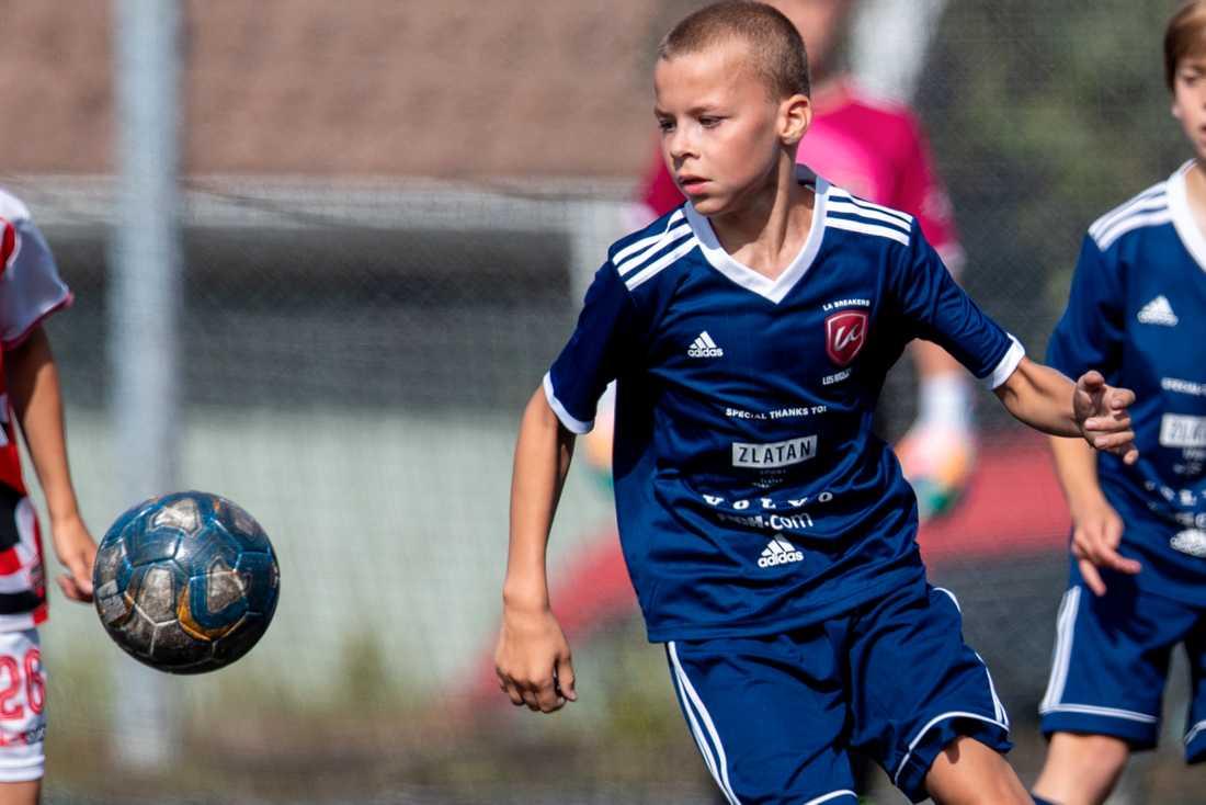 Zlatan Ibrahimovics son Vincent är på plats i Göteborg och spelar Gothia Cup.