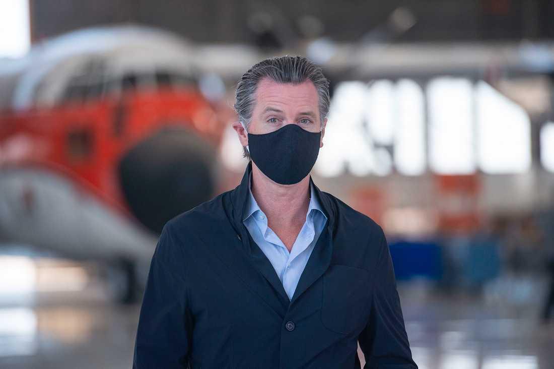 Kaliforniens guvernör Gavin Newsom.