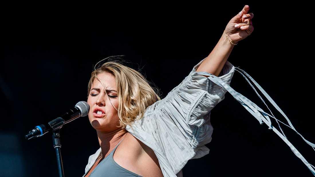 Molly Sandén på Lollapalooza.
