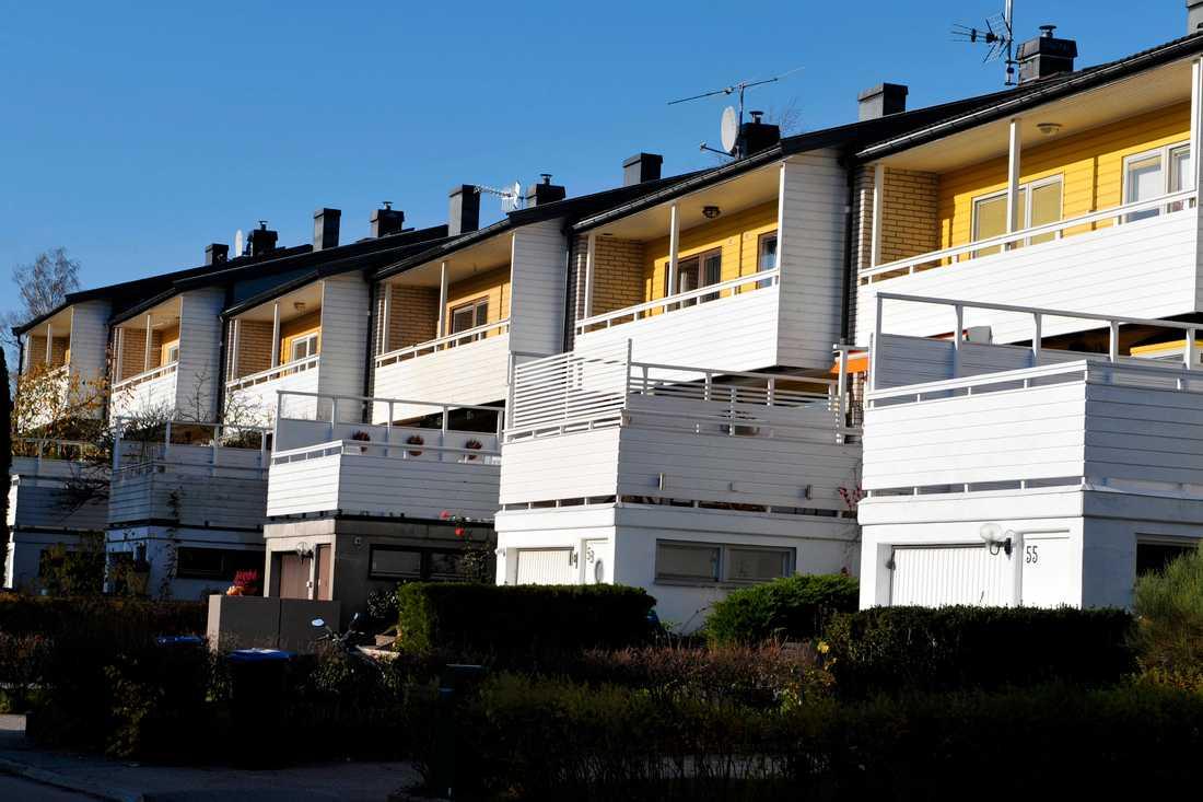 Arkivbild på hus som inte har med artikelns innehåll att göra.