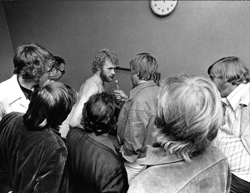 27 augusti 1970 Tom Turesson hade åtevänt från Belgien, men skadat sig direkt. Mot Åtvidaberg gjorde han sin återkomst – med två mål.