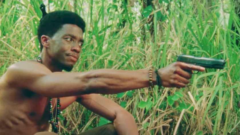 """Chadwick Boseman i """"Da 5 bloods""""."""