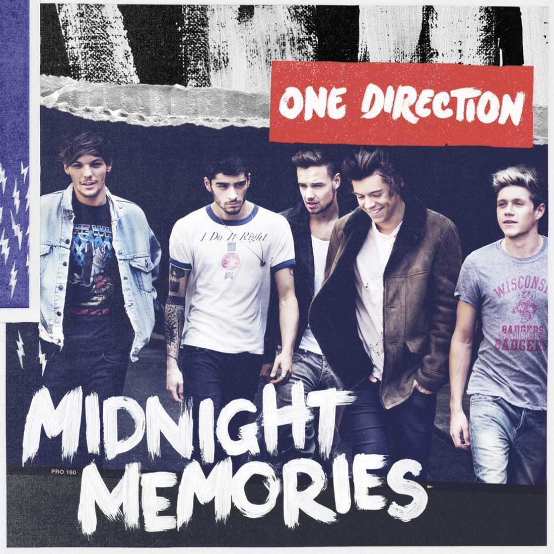 One Directions nya albumomslag.