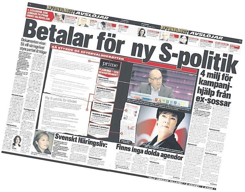 Aftonbladets avslöjande i fredags.