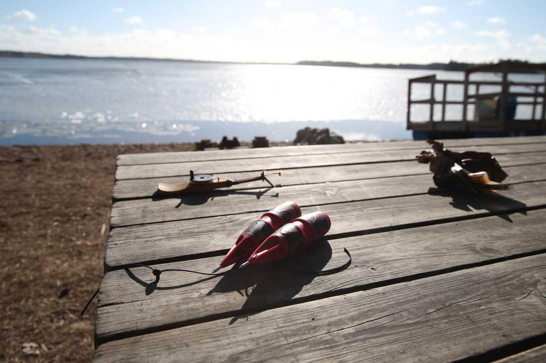 Fyra män drunknade i Sävsjö.