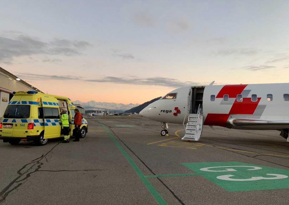"""I en kommentar uttrycker Ilja sin tacksamhet till polisen och sjukhuspersonalen i Sverige. """"Jag är väldigt berörd över hjälpen jag har fått"""", skriver han."""