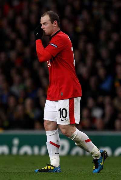 Wayne Rooney. FOTO: AP
