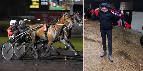 Regnvädret i Paris gynnar svenskhoppet i Prix d'Am´erique: När han vann Europaderbyt var det mycket sämre väder här, säger Timo Nurmos.