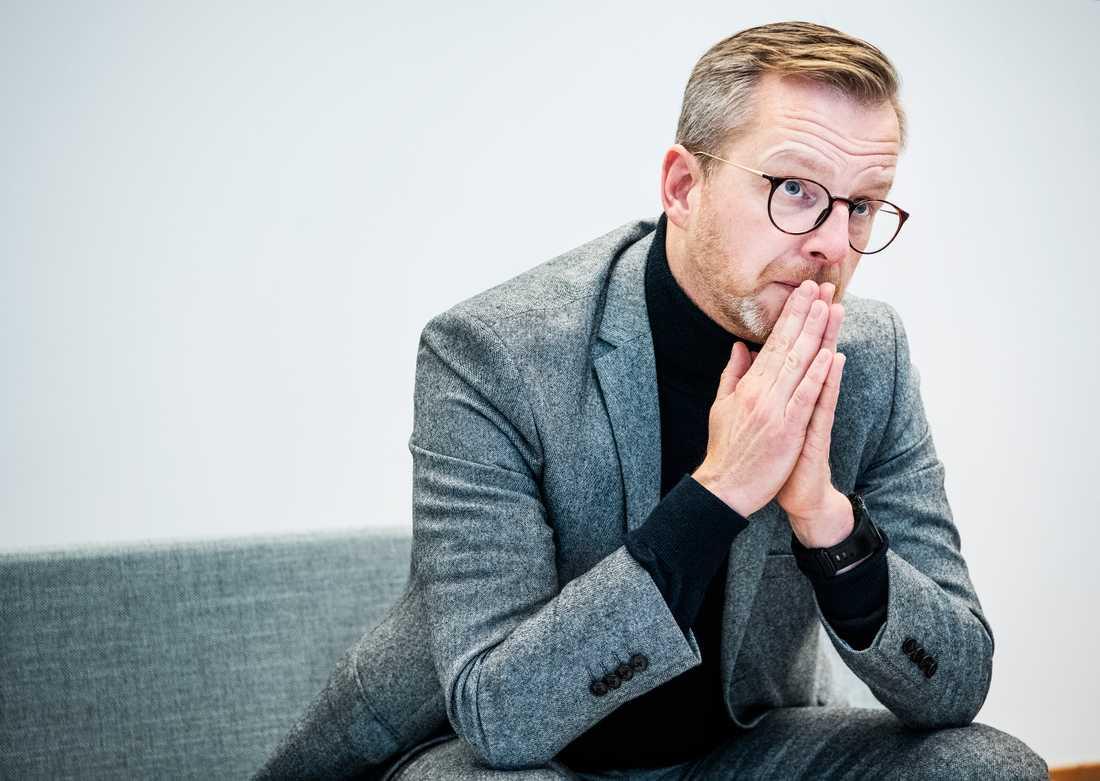 """Enligt inrikesminister Mikael Damberg (S) arbetar regeringen """"aktivt för att undanröja hindren mot utvisningarna"""". Arkivbild."""
