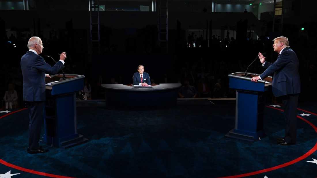 Bild från debatten.