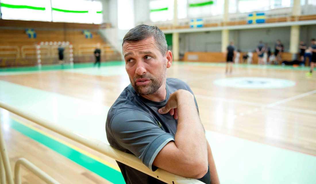 Stefan Lövgren mäktigast i handbolls-Sverige.
