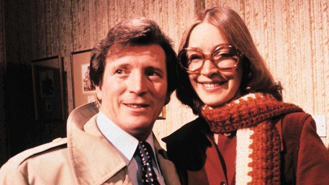 """Johnny Briggs och Anne Kirkbride i """"Coronation Street""""."""