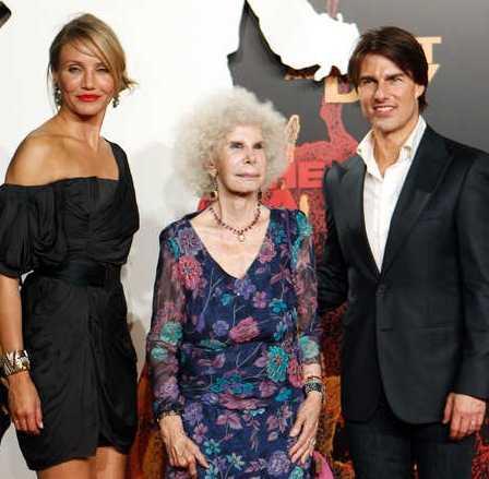 """Hänger med kändisar Hertiginnan minglade bland annat med Tom Cruise och Cameron Diaz under premiären av """"Knight and Day""""."""