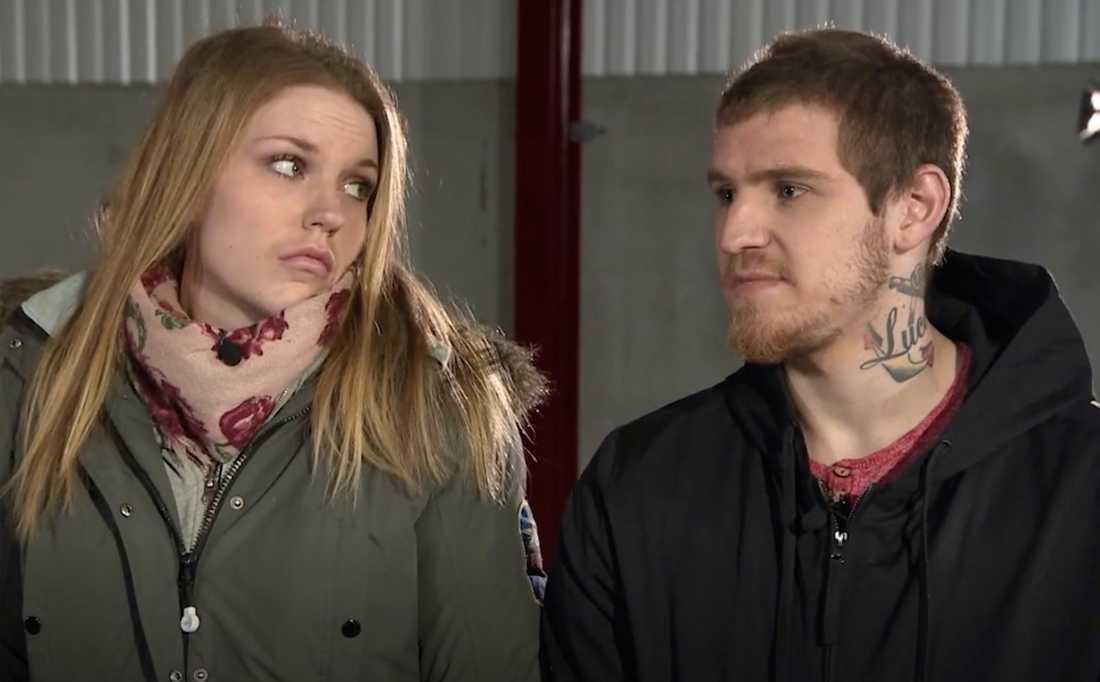 """Efter """"Lyxfällan"""": Sanne och Christoffer har flyttat isär."""