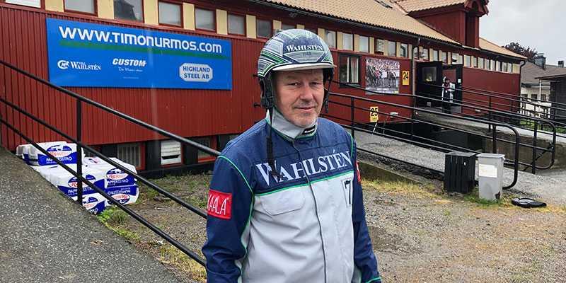 Timo Nurmos har med favoriten Readly Express i dagens Elitlopp.