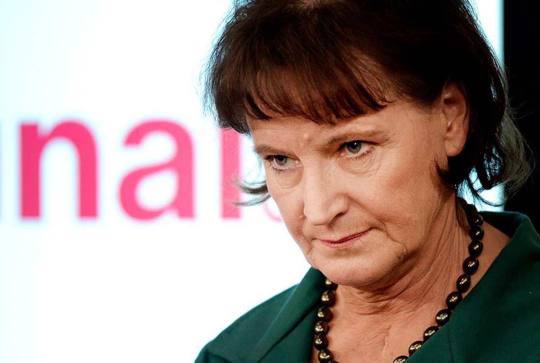 Kommunals förre ordförande Annelie Nordström.