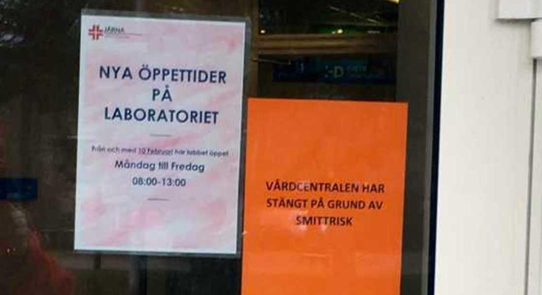 Vardcentral Utrymdes Pa Grund Av Smittolarm Aftonbladet