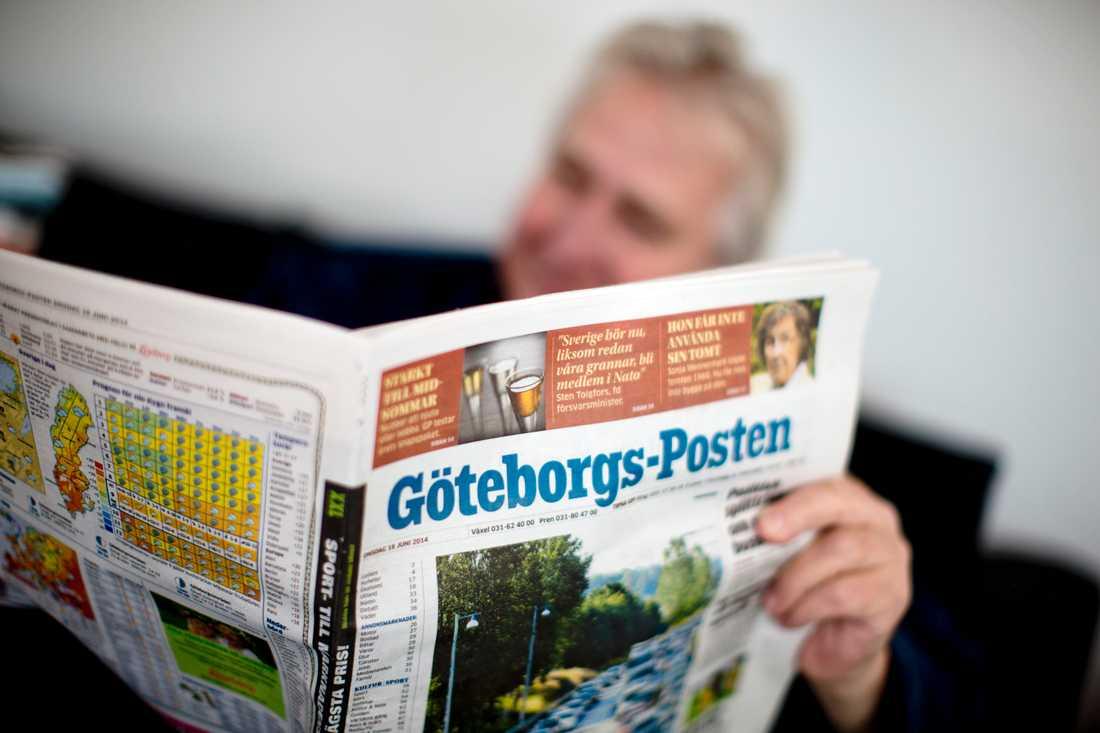Många mediehus väljer i år att inte publicera aprilskämt i tidningen, däribland Göteborgs-Posten. Arkivbild.