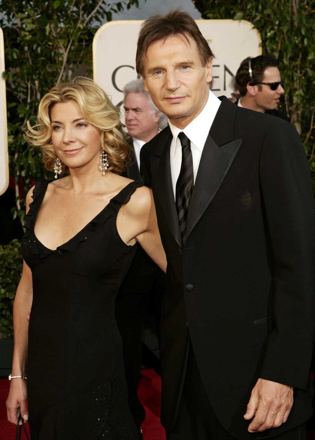 Natasha Richardson och Liam Neeson.