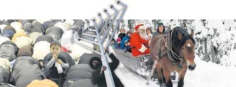 Många vill vara lediga på högtider som eid och chanukka i stället för till julen.