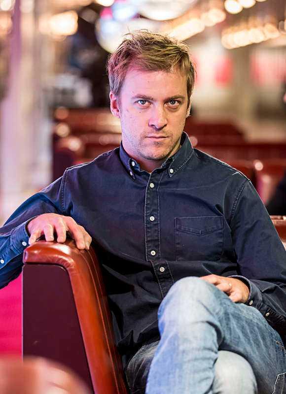 """Erik Johansson säger att hans roll i """"Blå ögon"""" var """"en mardröm"""", men den viktigaste han gjort."""