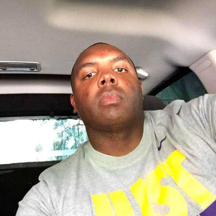Montrell Jackson var en av poliserna som sköts ihjäl i Baton Rouge i Louisiana, USA.