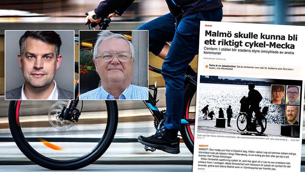 Om C tycker det är nedslående med Malmös tredjeplats i år kan vi upplysa om att Malmö toppade rankingen vid hela fyra tillfällen under 2010-talet. Vi har alltså under lång tid prioriterat utbyggnaden av cykelvägar, skriver Andreas Schönström (S) och Håkan Linné (L).