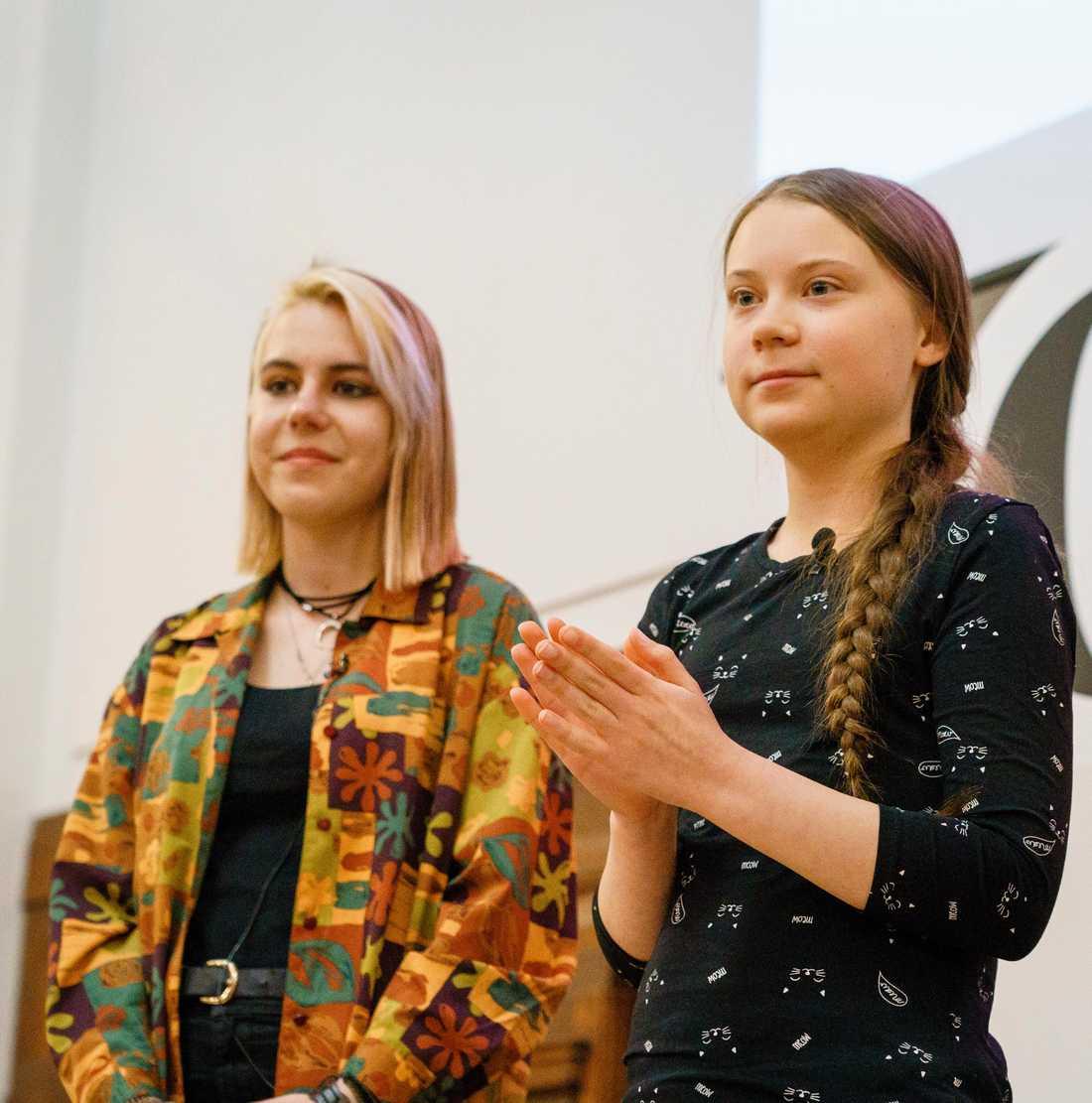 Anna Taylor, som är en frontfigur i Storbritannien för rörelsen som Greta Thunberg startade.