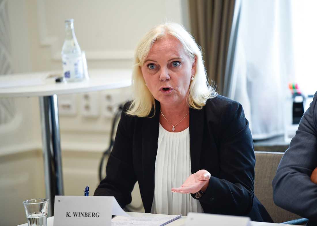 Kristina Winberg, SD.