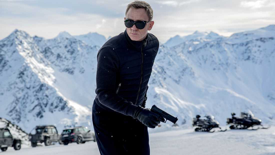 Daniel Craig som James Bond.