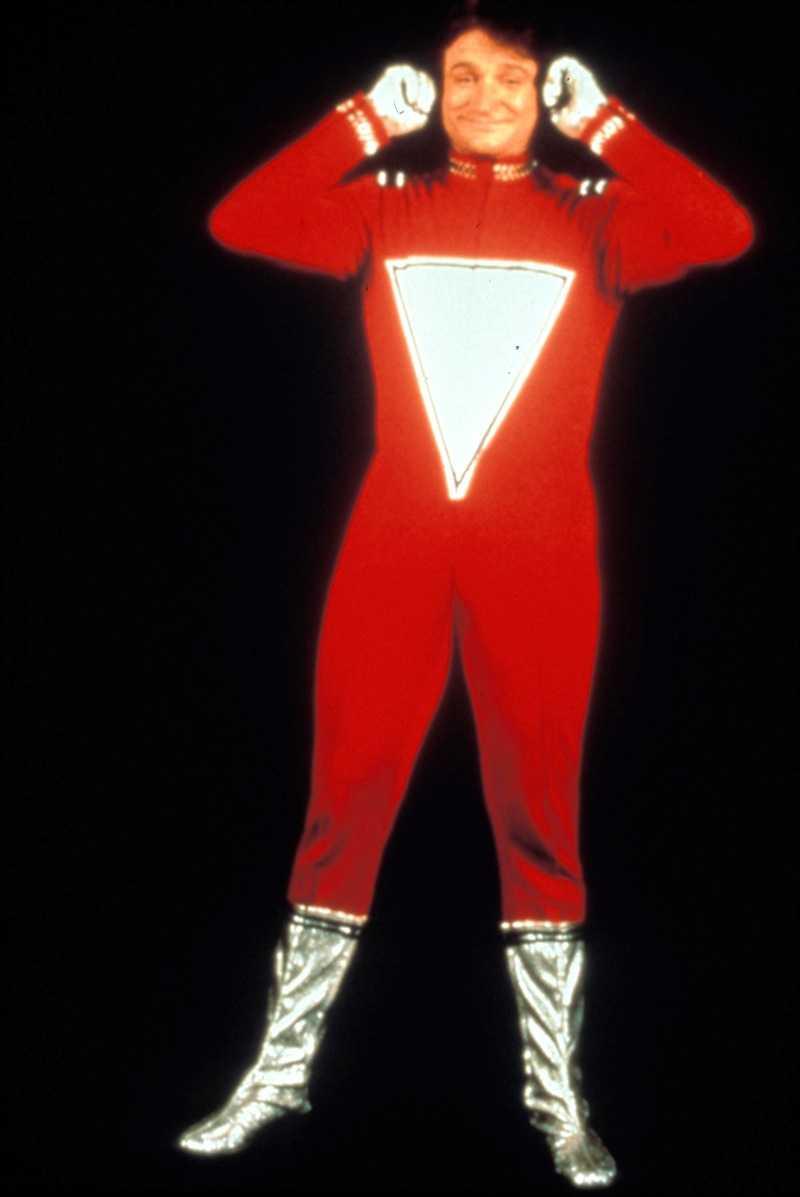 NANO NANO. Mork alias Robin Williams i tv-serien Mork & Mindy.