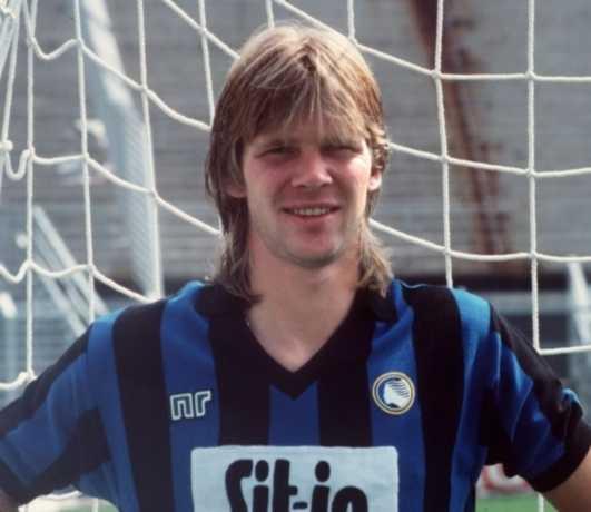 En ung Glenn Strömberg i Atalantas färger.