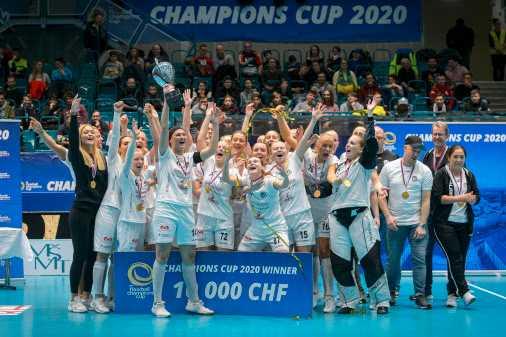 Täby är mästare i Champions Cup.