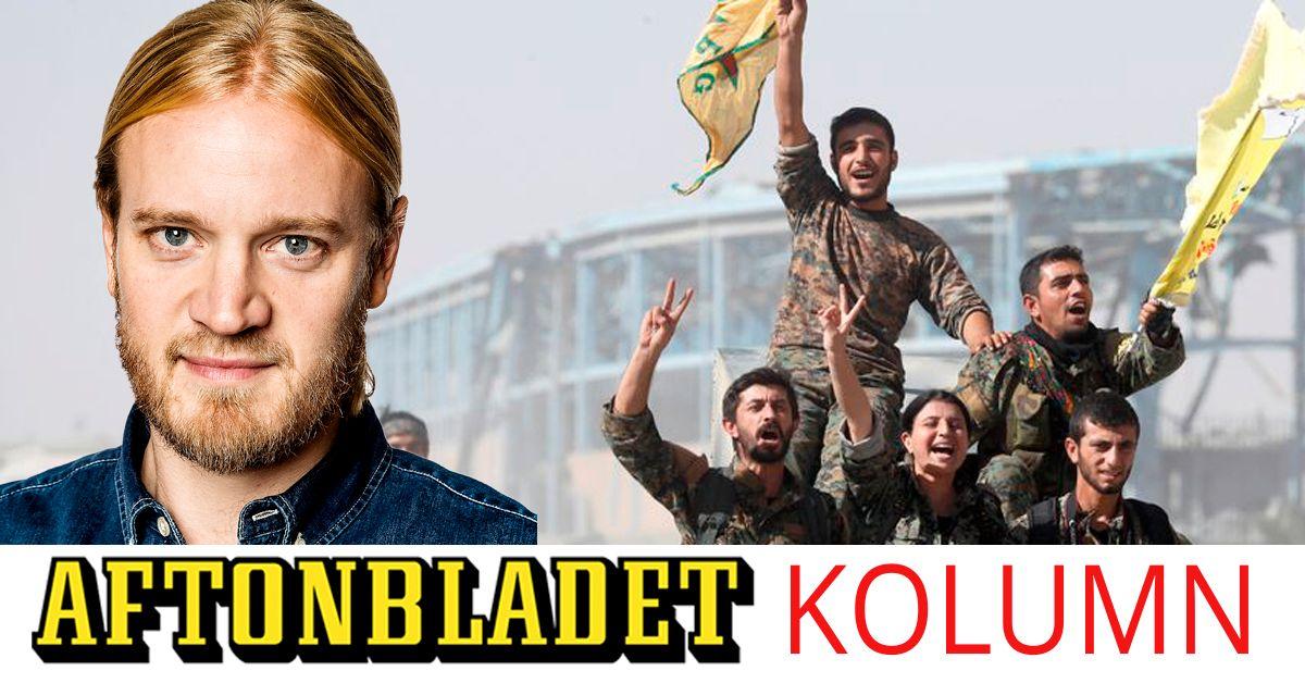 MARTIN SCHORI: Kurderna slogs mot IS – nu är de ensamma igen