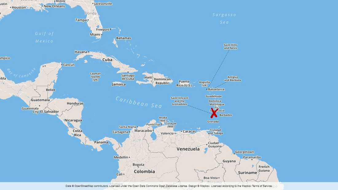 Saint Lucia.