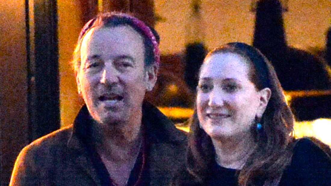 Bruce Springsteen med hustrun Patti Scialfa.