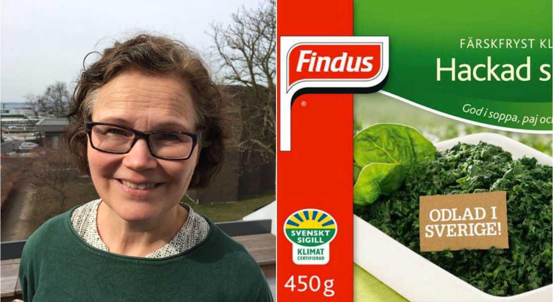 Ica-handlaren Ylva Magnesten plockade bort alla Findus produkter i Frysdisken efter beskedet om nedläggningen i Bjuv.