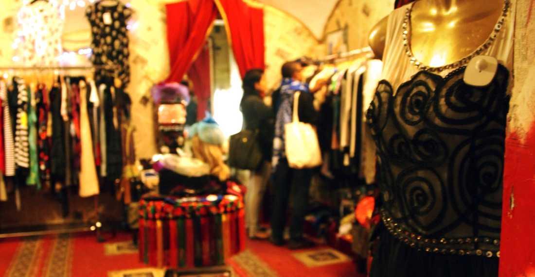 Vik av från de stora shoppinggatorna – och gör de riktiga fynden i vintage-butiker som Retro.