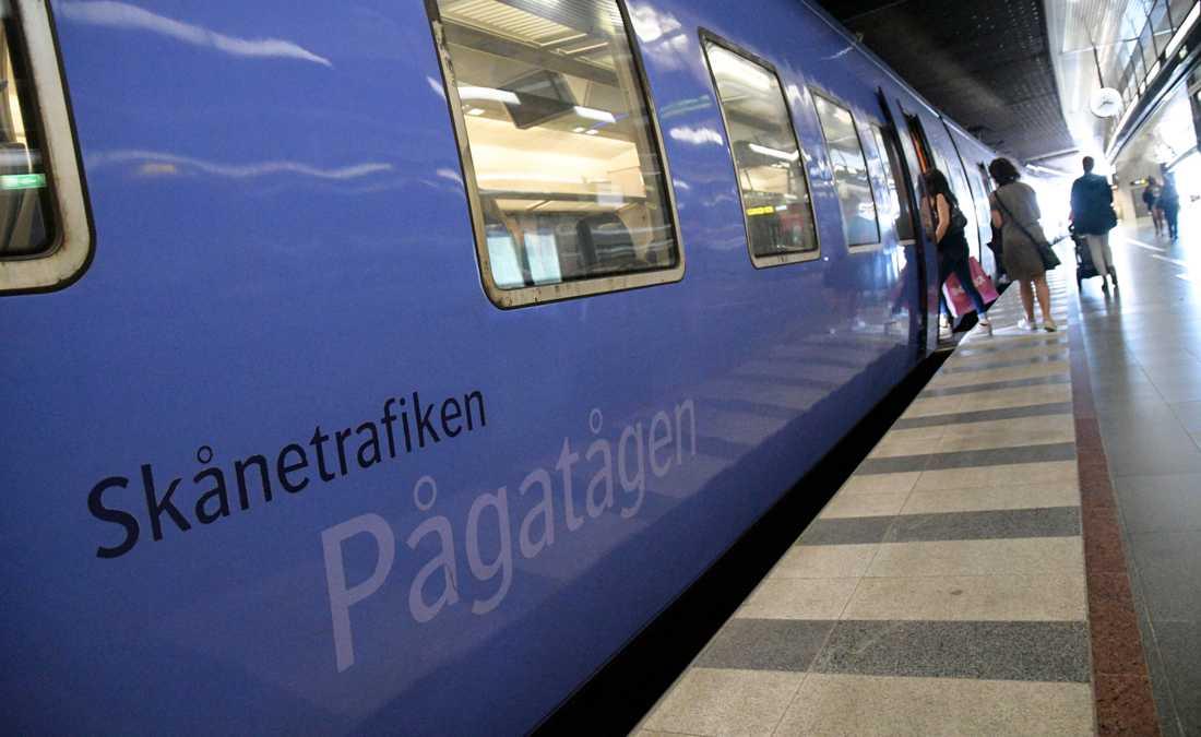 Bristerna i datasäkerheten upptäcktes av Skånetrafikens personal i juni. Arkivbild.