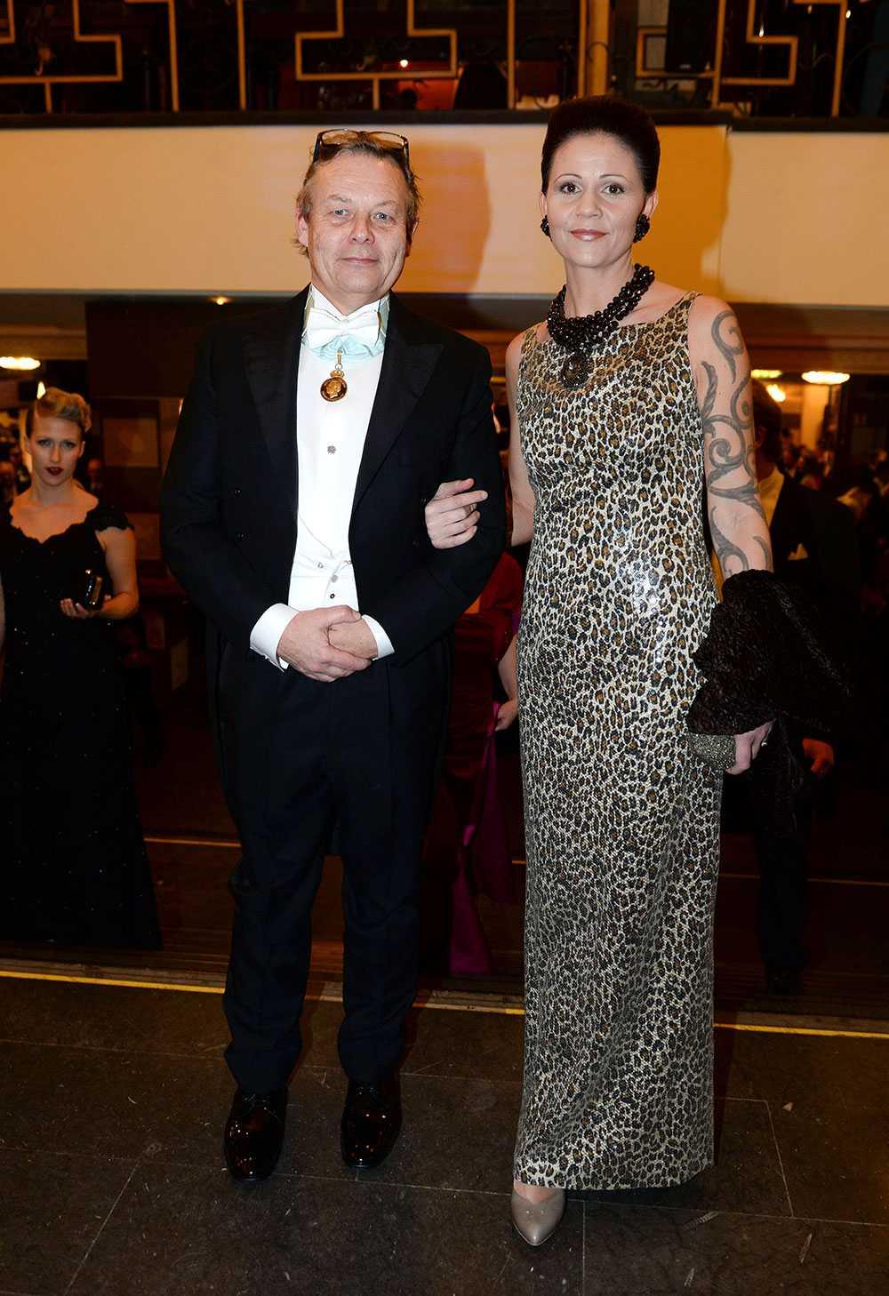 Klara Sydhoff Haugen och Peter Wallenberg Jr.